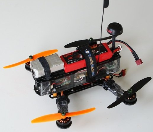 Materiales Drone Quadcopter con camara en tiempo real
