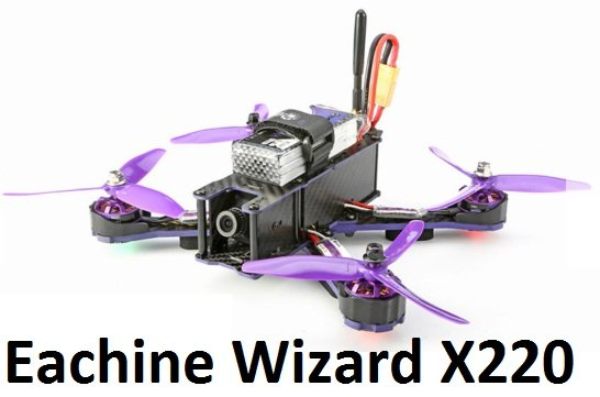 eachine-wizard-x220-fpv-racer