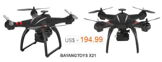 BAYANGTOYS X21 Brushless Double GPS