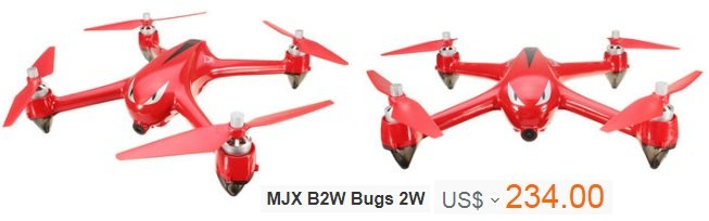 MJX B2W Bugs 2W WiFi FPV Brushless