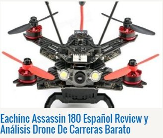 Eachine Assassin 180 Español